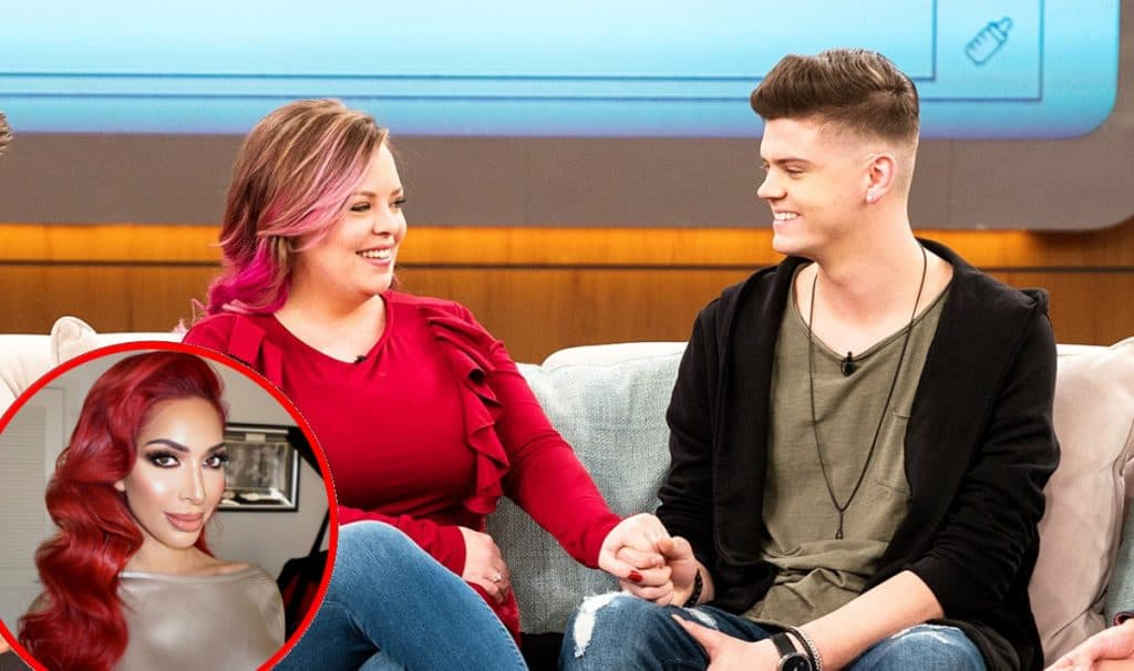 Teen Mom OG's Catelynn and Tyler talk Farrah on Dr. Oz Show