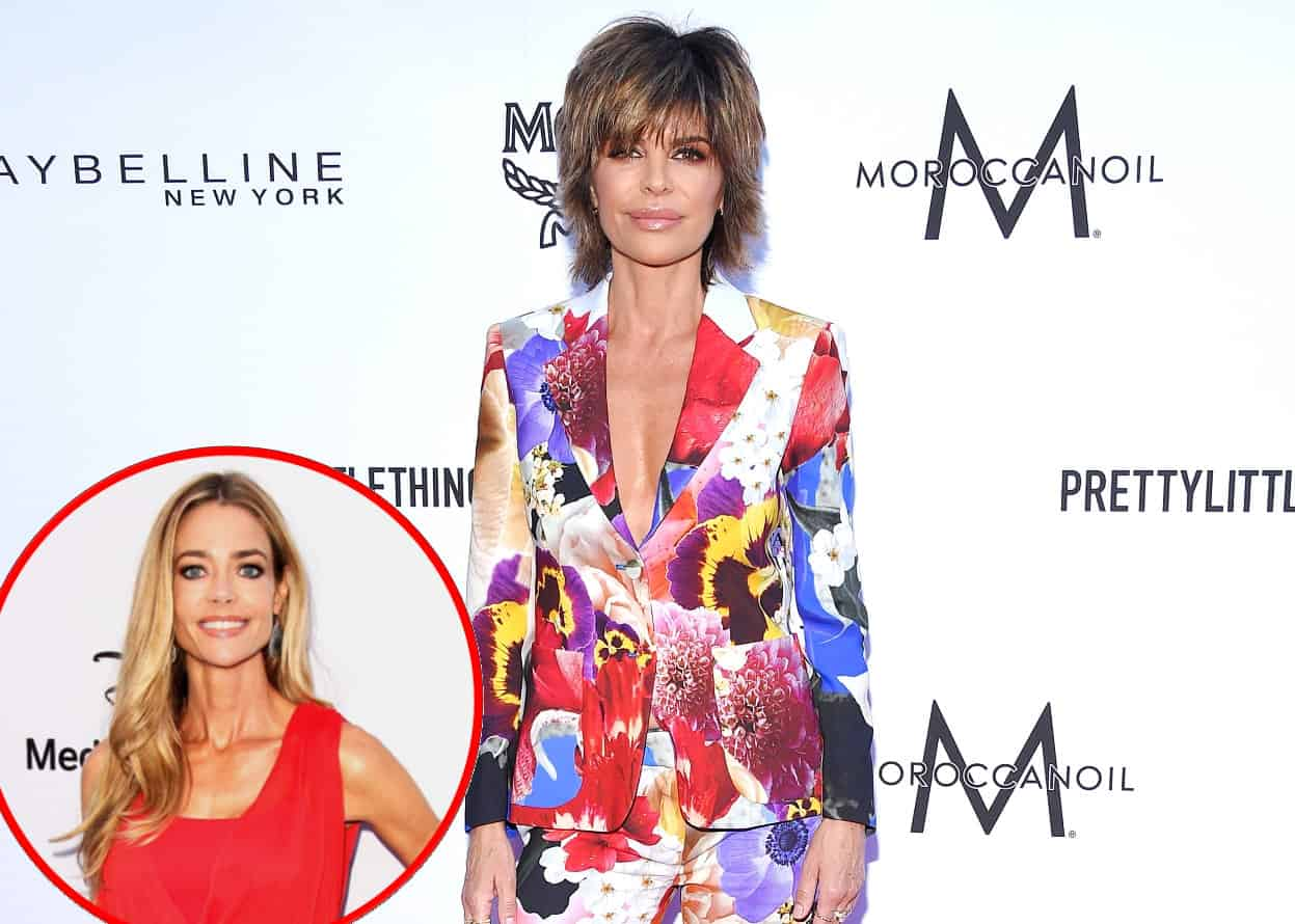 "Lisa Rinna Fires Back at Fan Who Says She's a ""Friend to No One"" as She's Called Out for Her Lack of Loyalty to Denise, Plus the RHOBH Star Admits She Wants to Host a Talk Show"