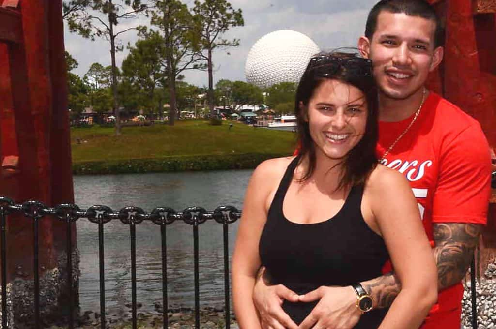 Javi Marroquin Pregnant Girlfriend Lauren Comeau