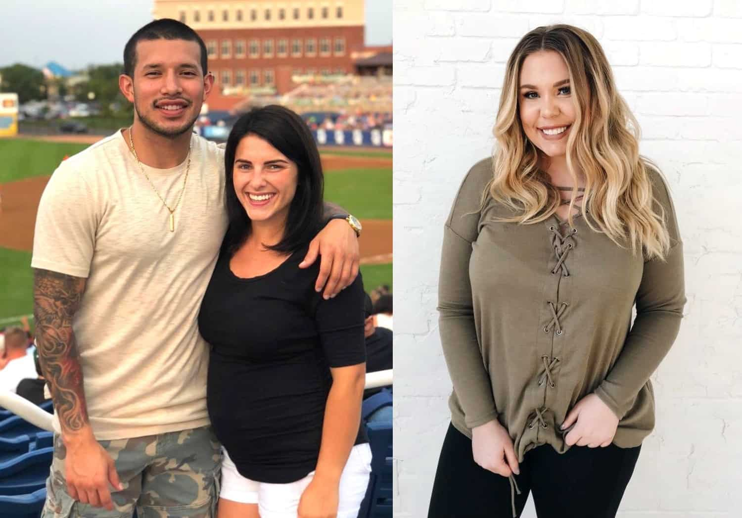 Teen Mom 2 Kailyn Lowry Lauren Comeau and Javi Marroquin