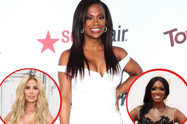 RHOA Kandi Burruss Talks Kim Zolciak and Porsha Williams