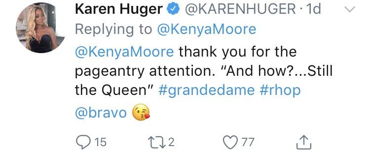 Karen responds to Kenya