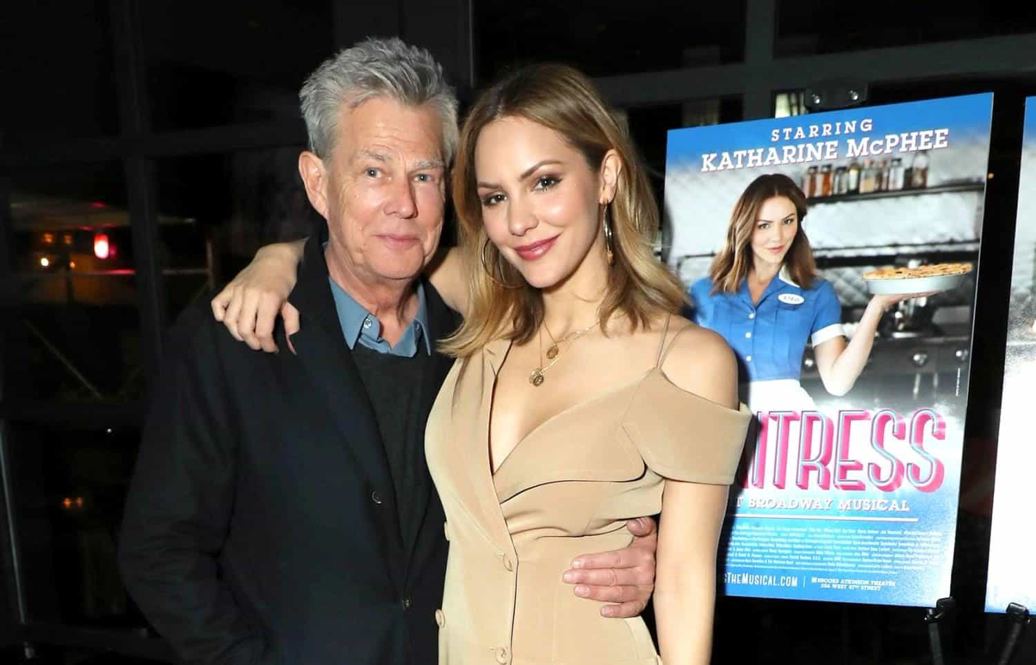 Katharine McPhee and David Foster News