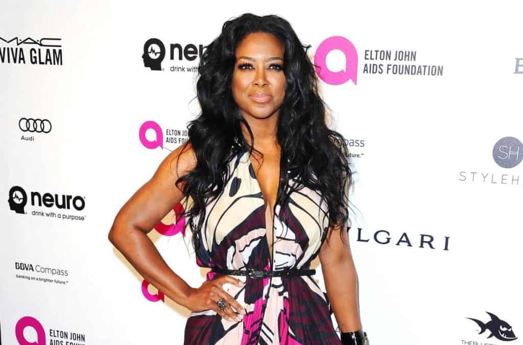 "REPORT: Kenya Moore Allegedly Suffers ""Meltdown"" During RHOA Filming Over Pressures of Being a Mom and Wife"