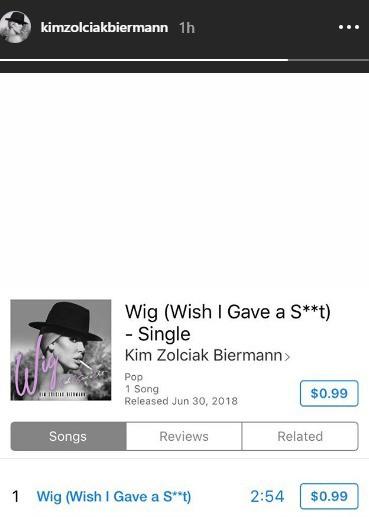Kim Zolciak Wig Single