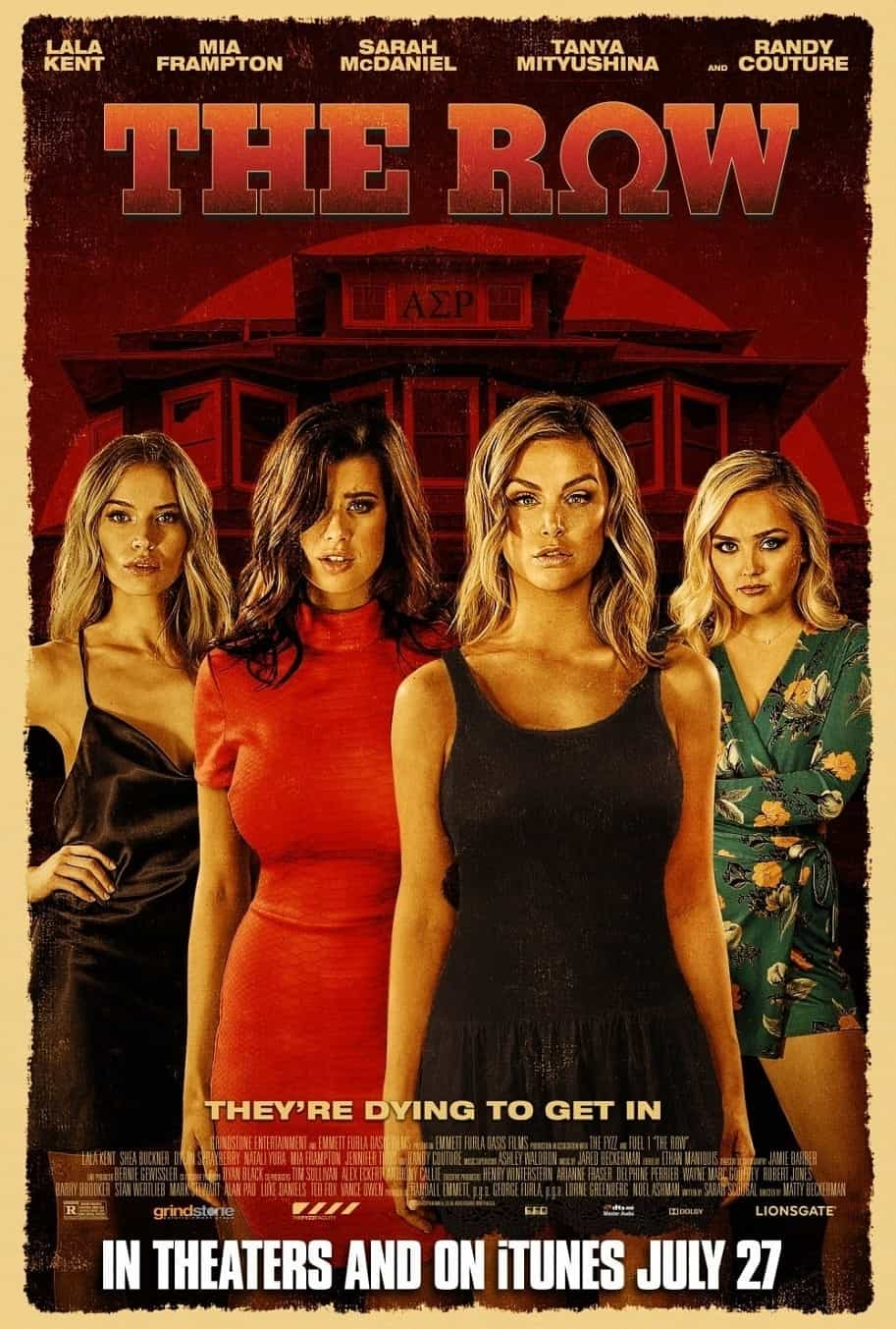 Lala Kent The Row Movie Poster