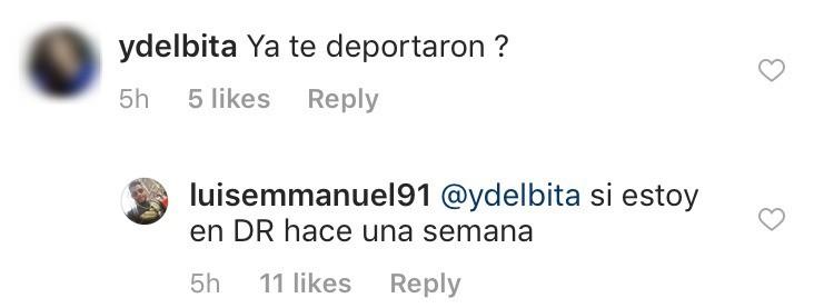 Luis Mendez Deportation