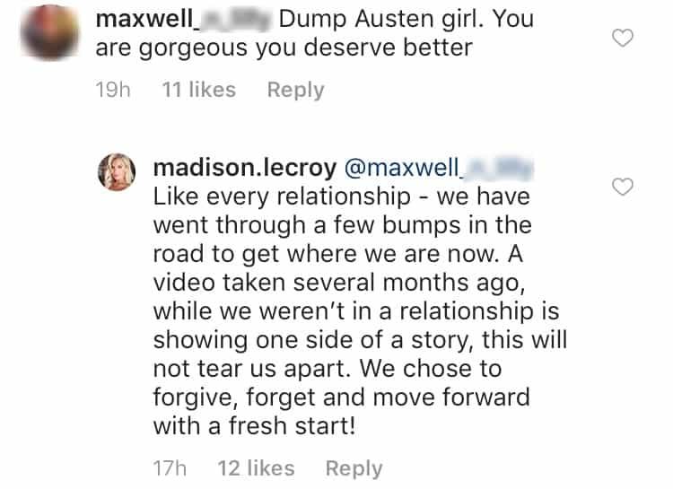 Madison video response