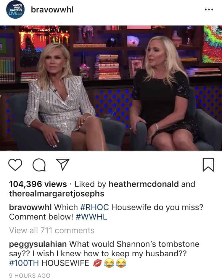 RHOC Peggy Sulahian Disses Shannon Beador on Instagram