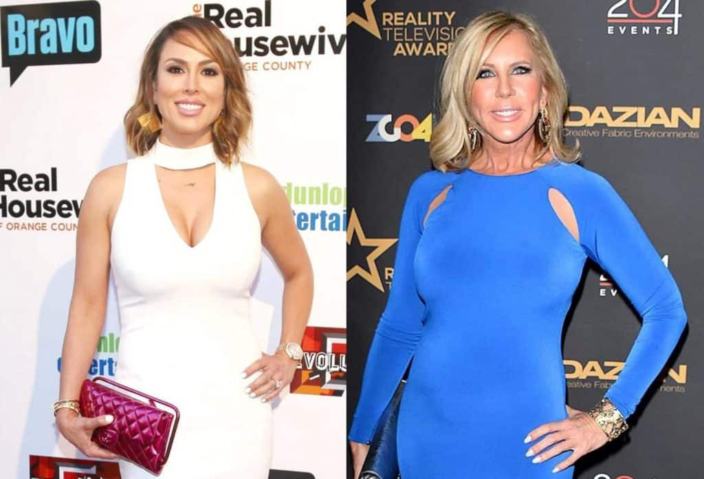 "RHOC Star Kelly Dodd Reacts to the ""Train"" Rumor Vicki Gunvalson Spread About Her, Accuses Vicki of 'Conning People'"