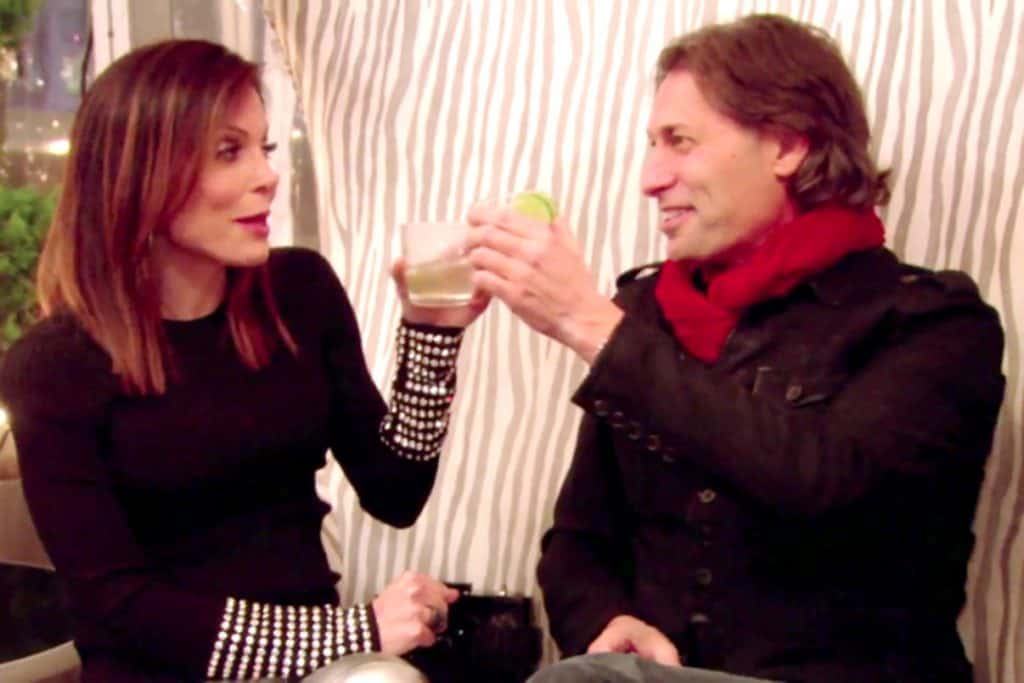 RHONY Bethenny and Brian Krauss Guy in the Red Scarf