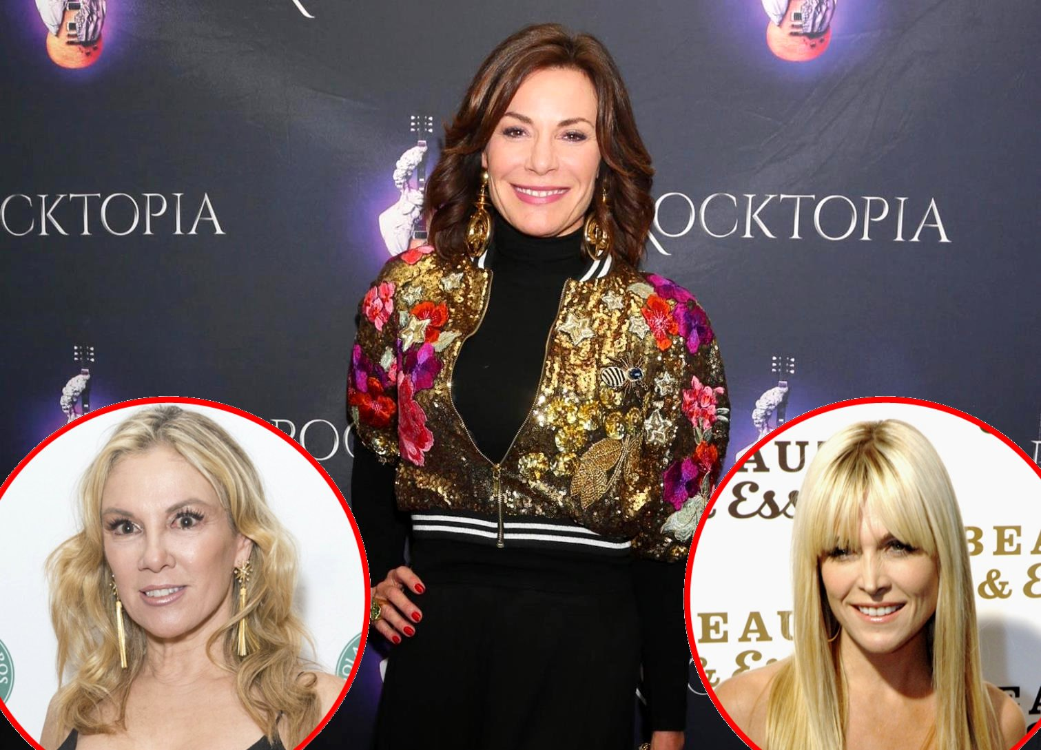 RHONY Luann de Lesseps vs Ramona Singer and Tinsley Mortimer