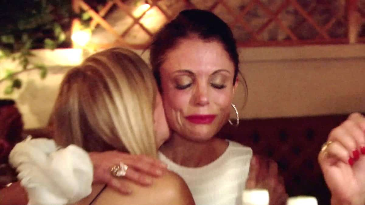 RHONY Recap Wigging Out Bethenny Crying