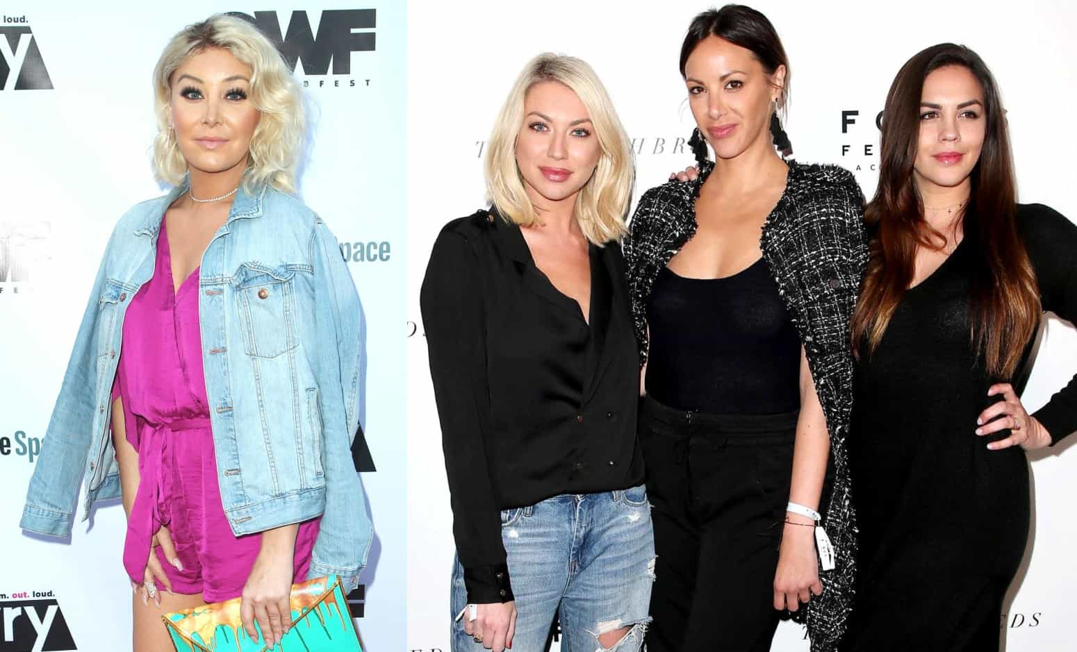 Vanderpump Rules Stassi Schroeder, Kristen Doute, Katie Maloney vs Billie Lee