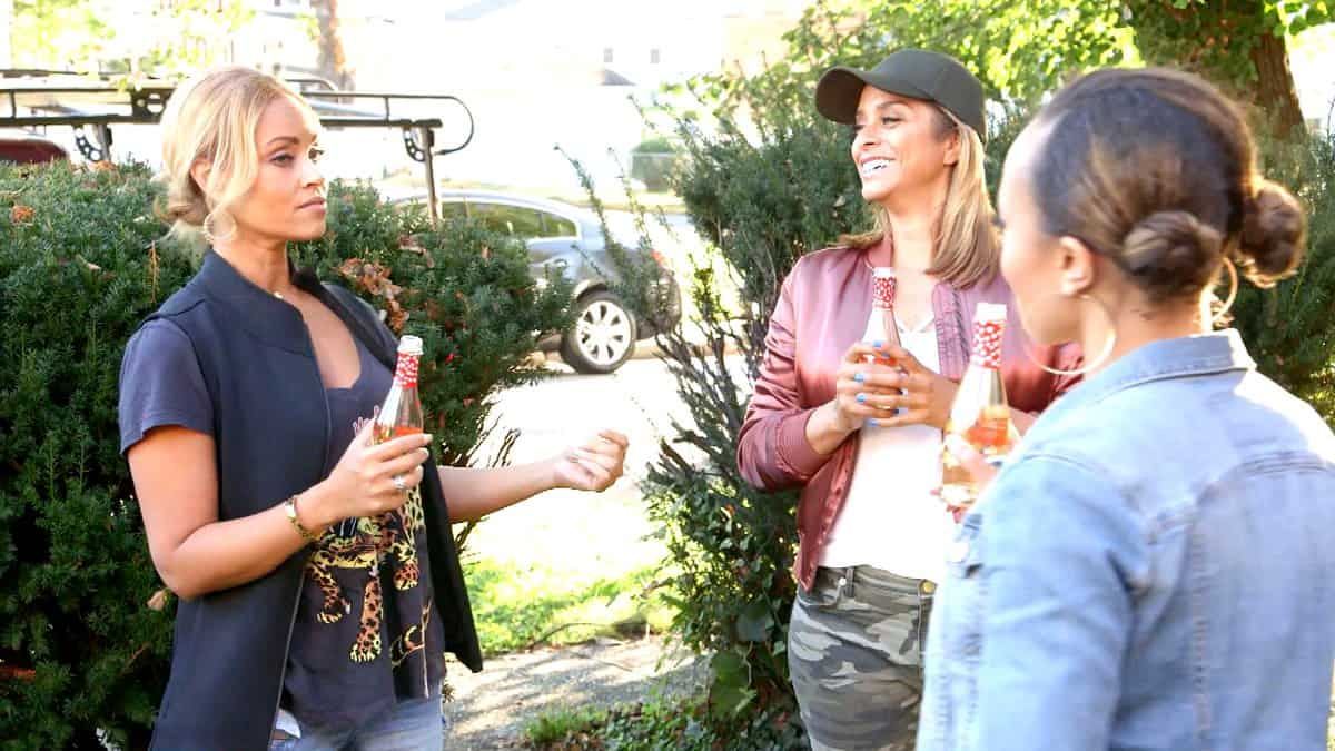 The Real Housewives of Potomac Recap Hot Gossip Cold Pizza Gizelle Robyn and Ashley