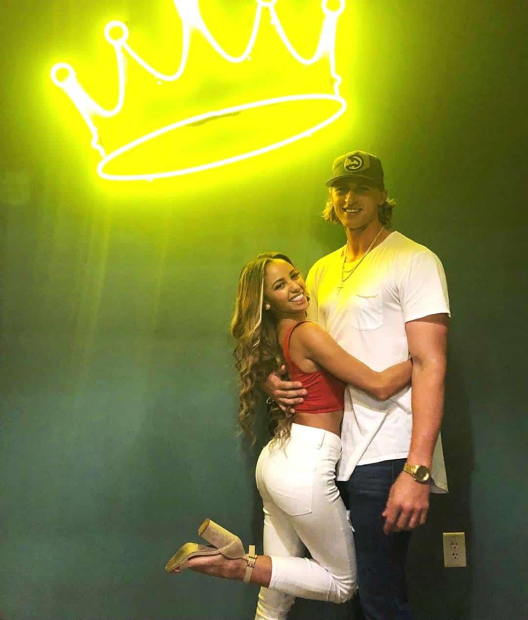 Michael Kopech girlfriend Vanessa Morgan