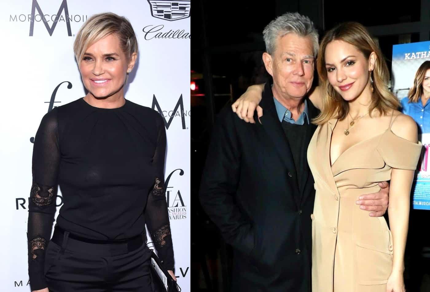 Yolanda Hadid Upset About David Foster Katharine Mcphee S Engagement