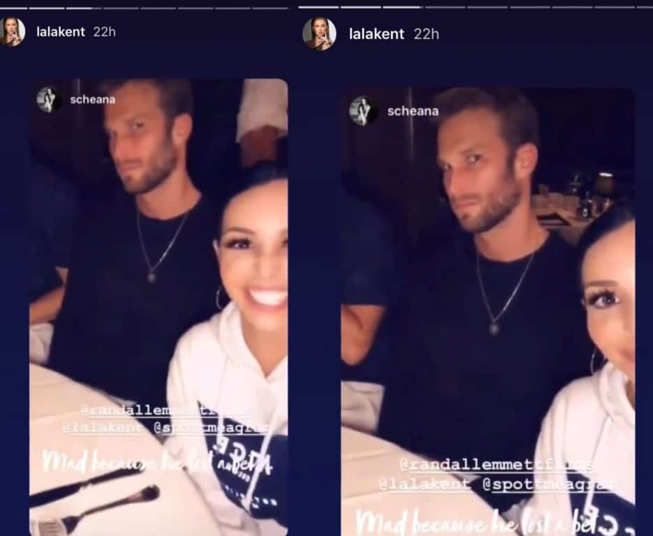 Adam and Scheana