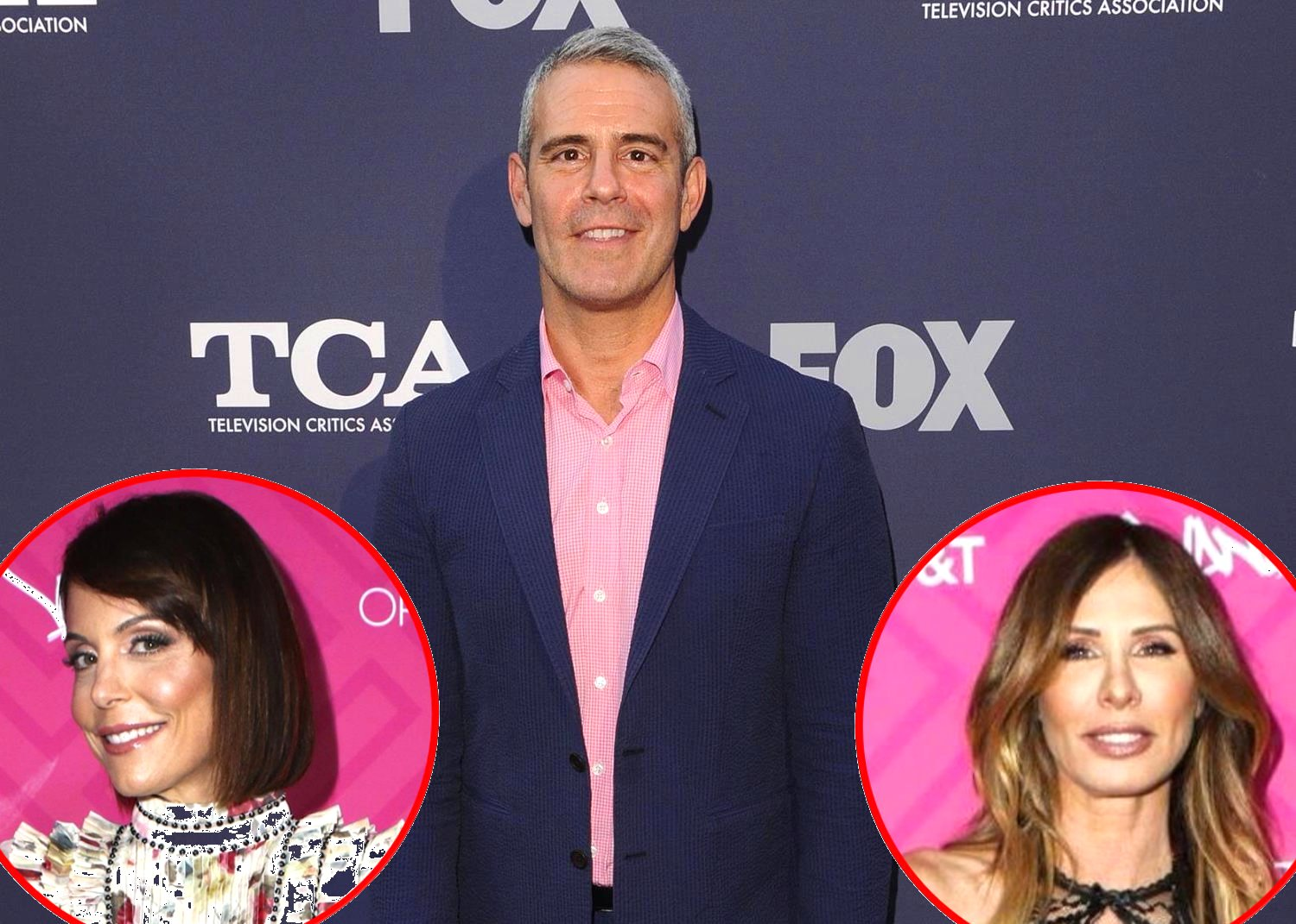 RHONY Andy Cohen talks Bethenny Frankel and Carole Radziwill