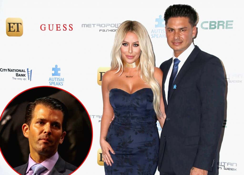 DJ Pauly D Addresses Aubrey O'Day Affair with Donald Trump Jr.