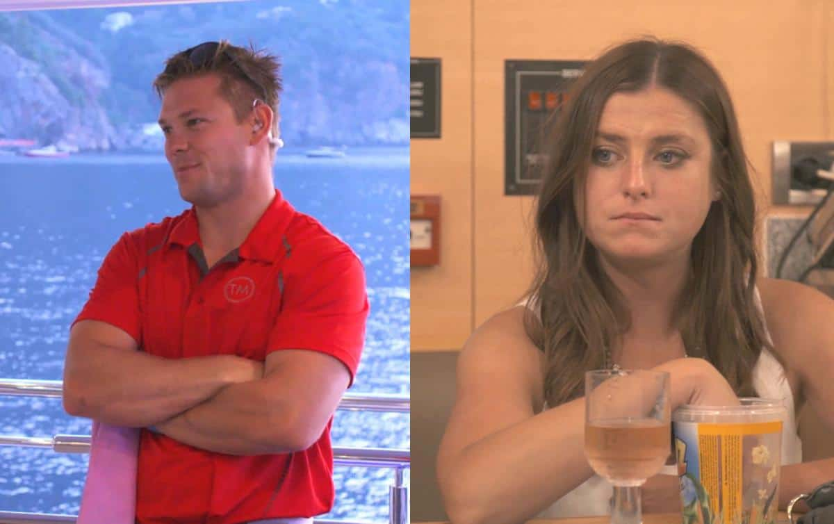 Below Deck Mediterranean One Million Percent Recap Joao and Brooke
