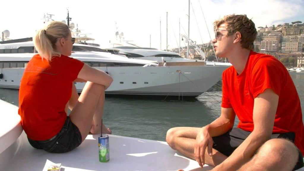 Below Deck Mediterranean Take this job and Stew it Recap Hannah and Conrad