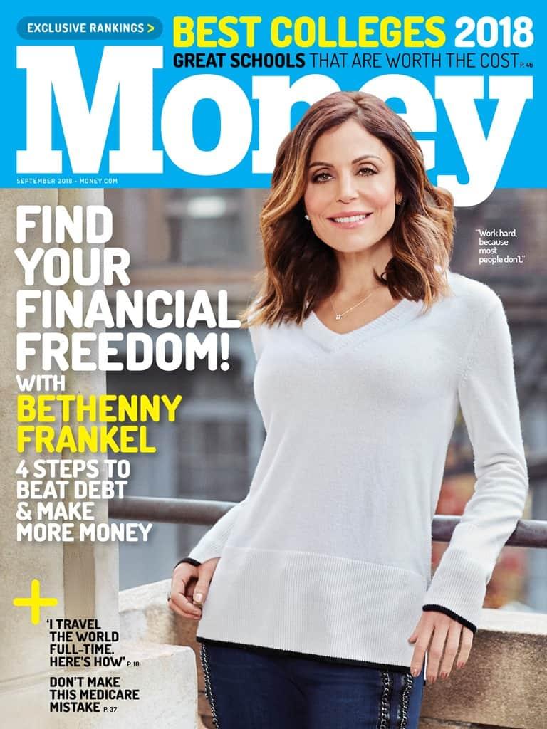 Bethenny Frankel Money Magazine Cover