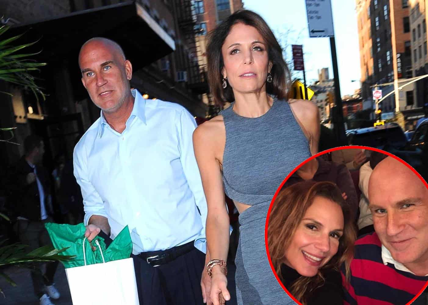 RHONY Bethenny Frankel and Dennis Shields plus Jill Schwartzberg Shields