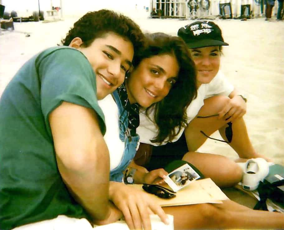 Bethenny Frankel and Mario Lopez Saved by the Bell