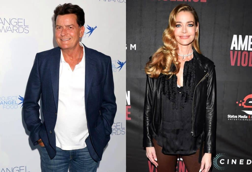 Will Denise Richards' Ex-Husband Charlie Sheen Appear on the 'RHOBH' this Season? He Speaks Out