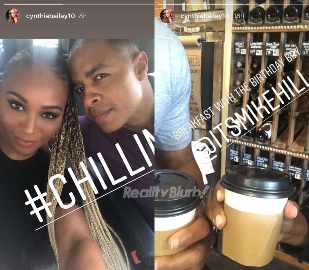 Cynthia Bailey New Boyfriend Mike Hill