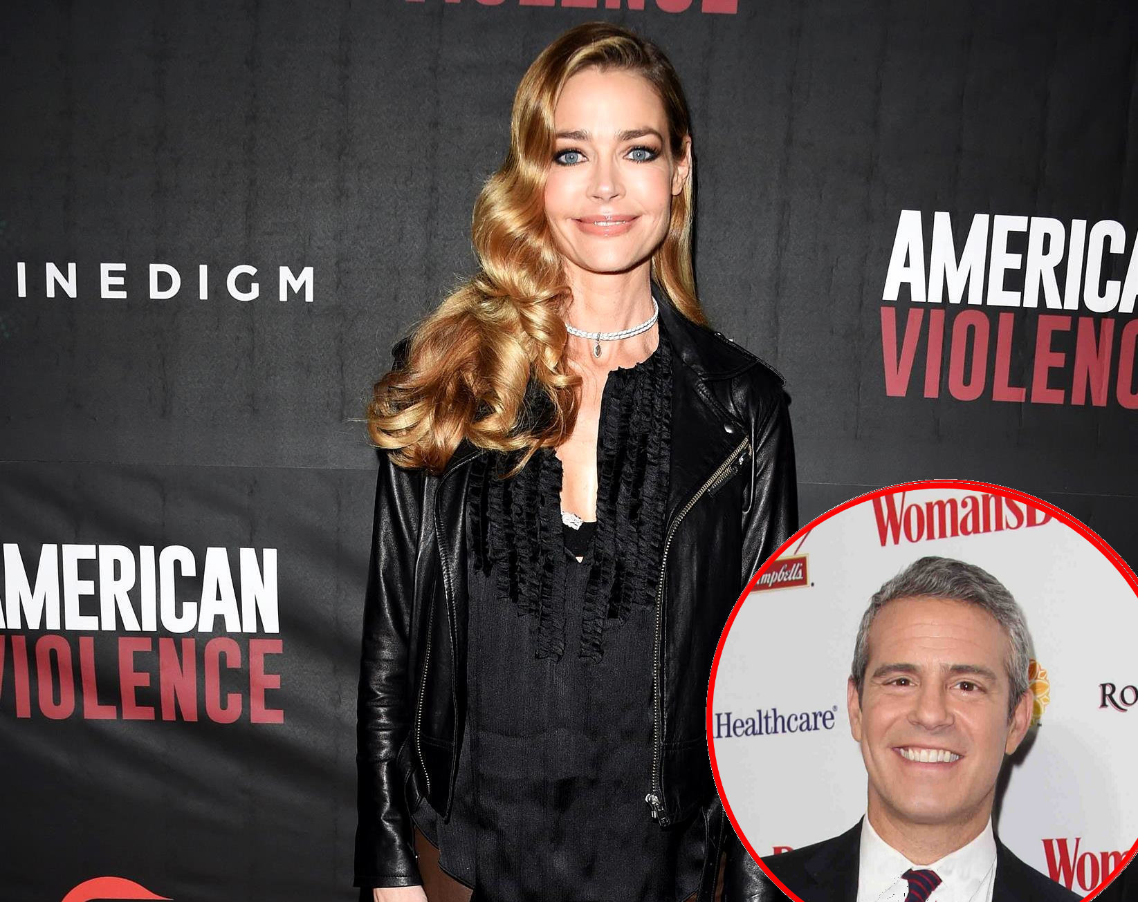 RHOBH Denise Richards Andy Cohen