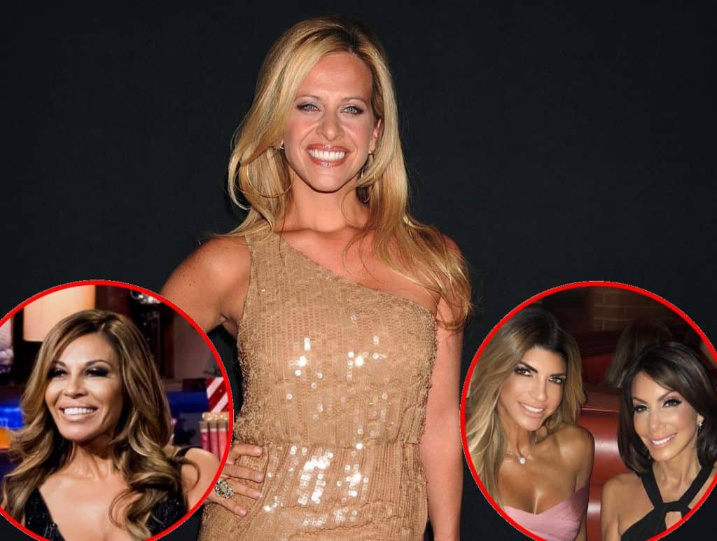 RHONJ Dina Manzo talks Dolores Catania plus Teresa Giudice and Danielle Staub