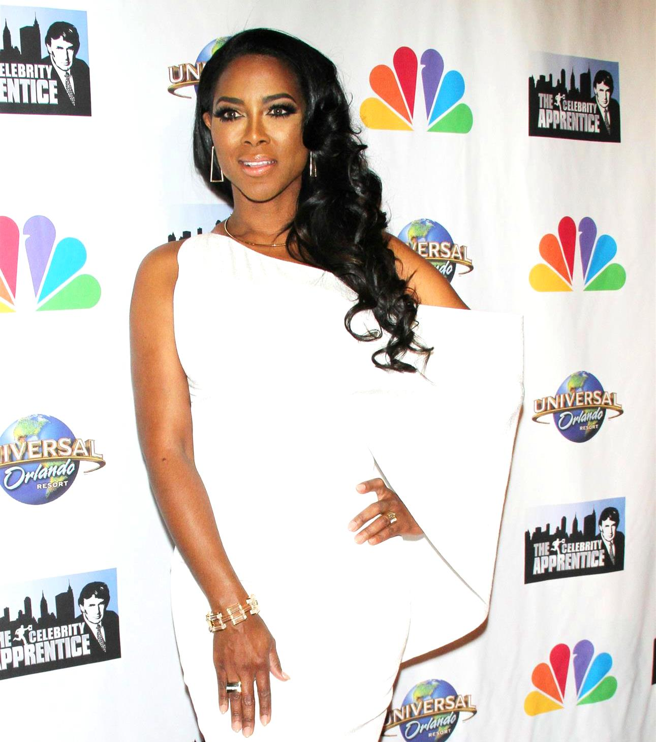 RHOA Kenya Moore News Protest