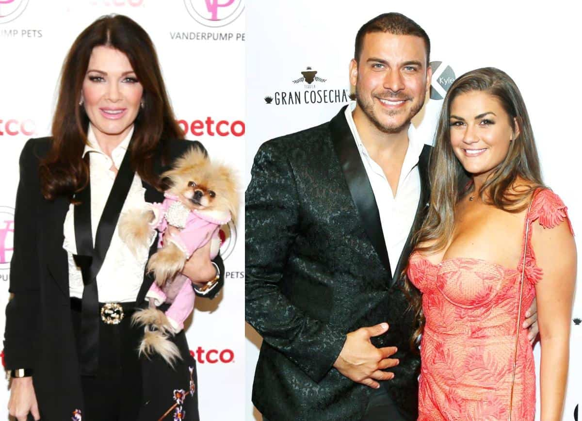 Vanderpump Rules Lisa Vanderpump Talks Brittany Cartwright and Jax Taylor Engagement