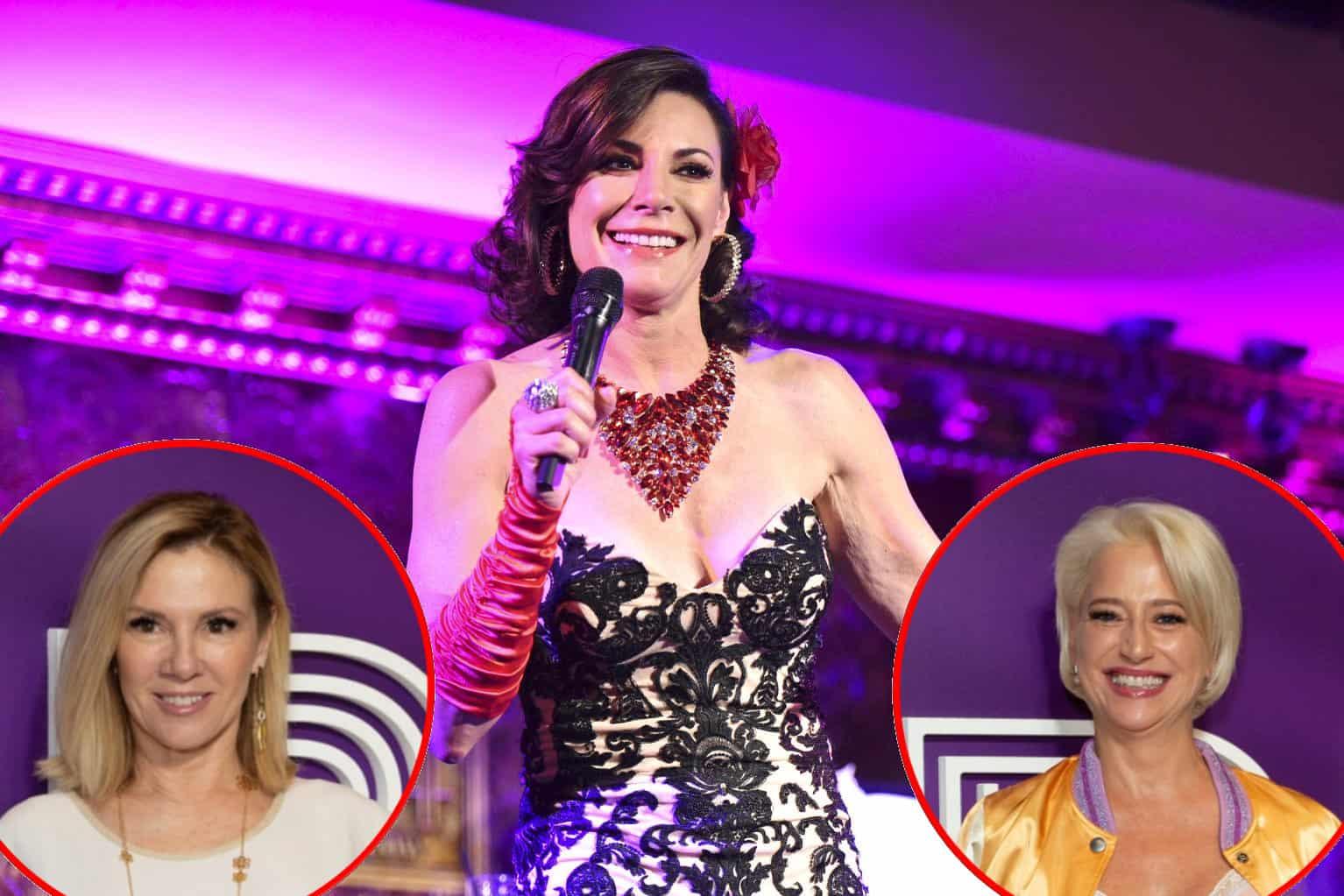RHONY Luann de Lesseps Disses Ramona Singer and Dorinda Medley