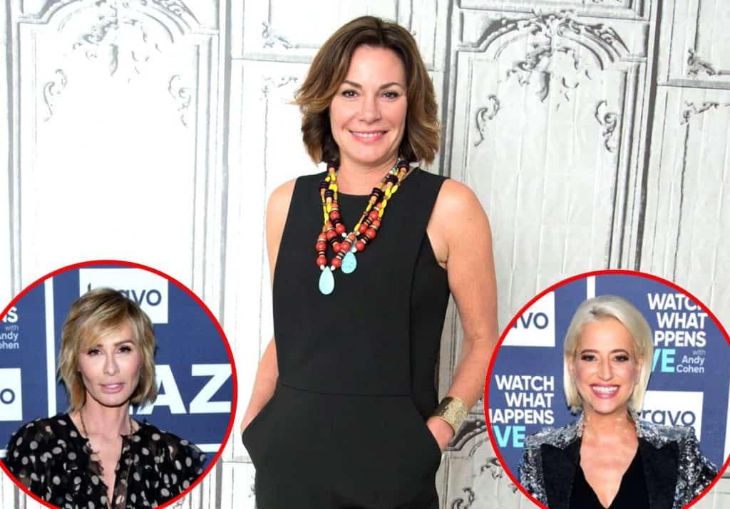 RHONY Luann de Lesseps Talks Carole and Dorinda