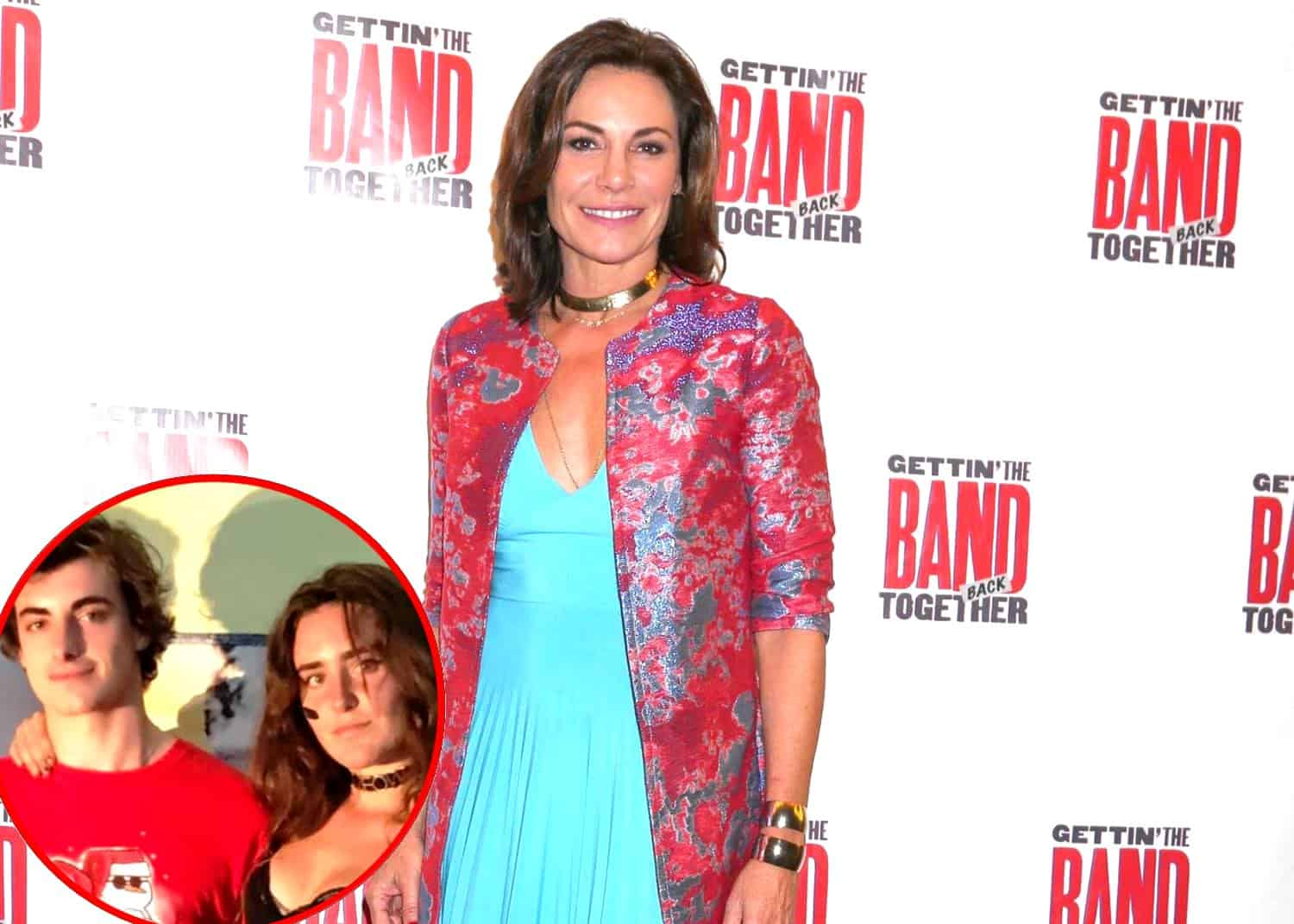 RHONY Luann de Lesseps and kids Victoria and Noel de Lesseps