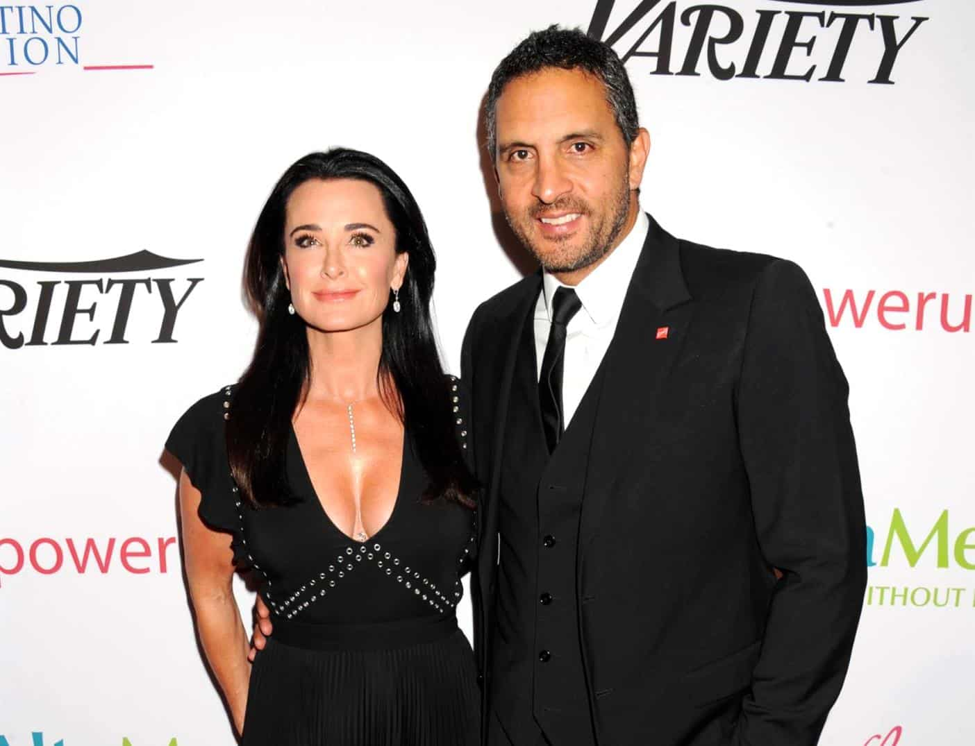 Source Shuts Down Divorce Rumors About Kyle Richards and Mauricio Umansky After Blind Item Claiming a West Coast Housewife is Secretly Separated Led to Speculation About RHOBH Couple
