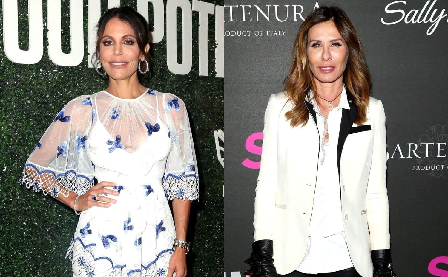 RHONY Bethenny Frankel and Carole Radziwill News
