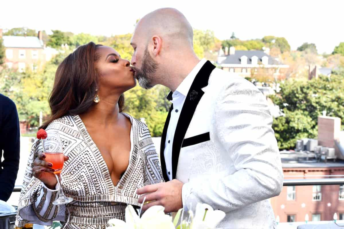 RHOP Candiace Dillard and Chris Bassett Engagement Wedding
