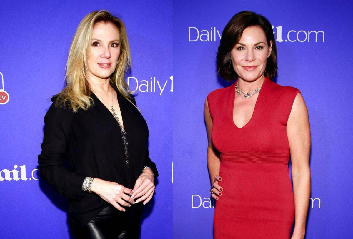 RHONY Ramona Singer and Luann de Lesseps talk reunion