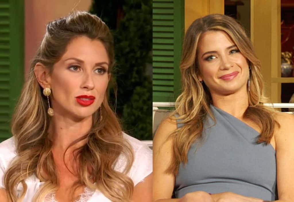 Southern Charm Ashley Jacobs vs Naomie Olindo