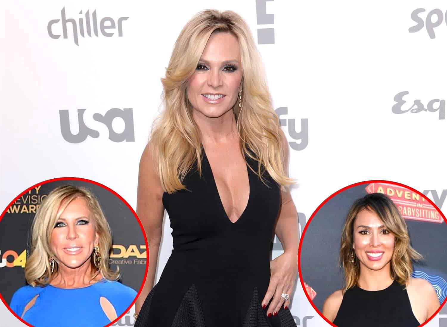 RHOC Tamra Judge talks Vicki Gunvalson and Kelly Dodd