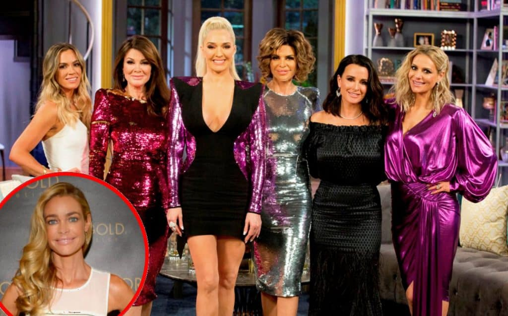 The RHOBH cast plus Denise Richards vacation