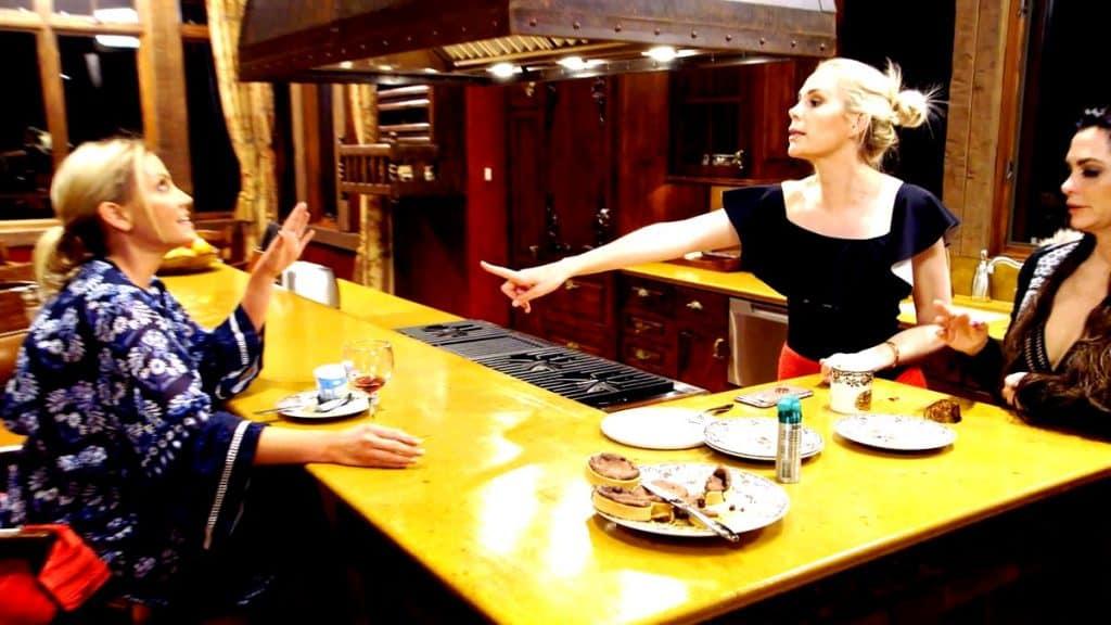 The Real Housewives of Dallas Recap A Badger in Beaver Creek Kameron Westcott vs Stephanie Hollman