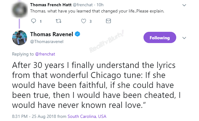 Thomas Chicago Faithful Lyrics