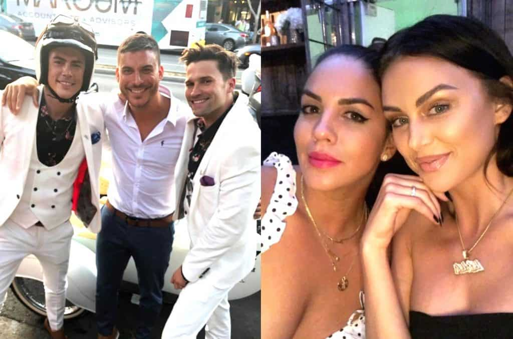 Vanderpump Rules cast at Tom Tom Bar Opening
