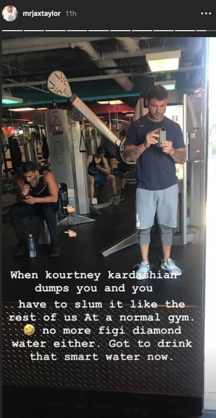 Younes Bendjima At Gym After Split