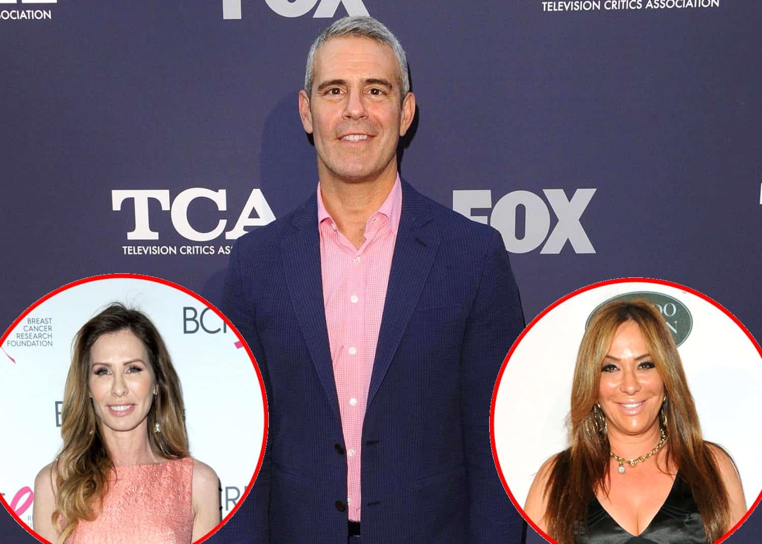 RHONY Andy Cohen talks Carole Radziwill and Barbara Kavovit